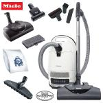 Best for all carpets, floors, homes with pets and covers all your cleaning needs. ​ Includes SEB 228 Electric Power Nozzle, Parquet Twister Floor Brush, STB 101 Hand Turbo ​ Charcoal Filtration for Pets